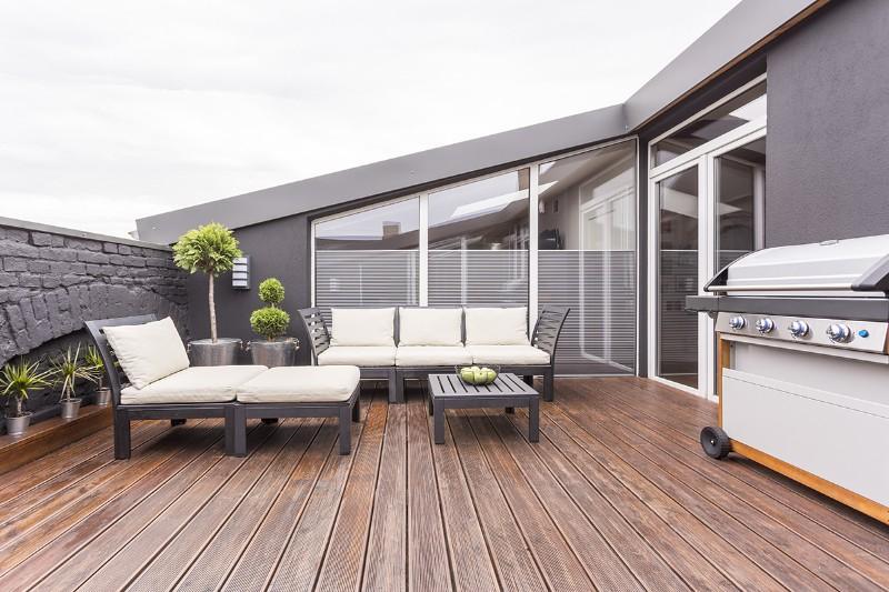 Terrasse à Surville, près de Lisieux